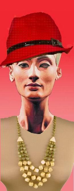 Скульптурное лицо царицы
