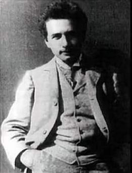 Альберт Эйнштейн 1900