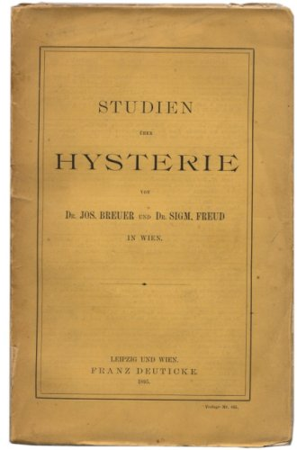The case of anna o, reported by josef breuer and sigmund freud in their1895 book studies on hysteria