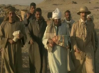 Кадр из кинофильма: Борхардт и египтяне