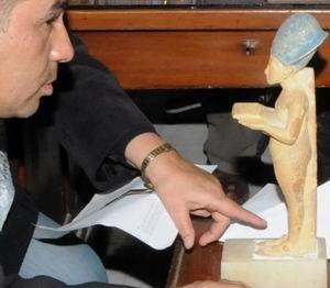Возвращение похищенной статуэтки Эхнатона в Каирский музей