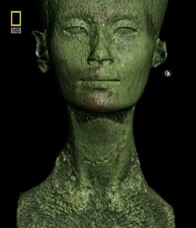 Неужели это истинное лицо Нефертити?
