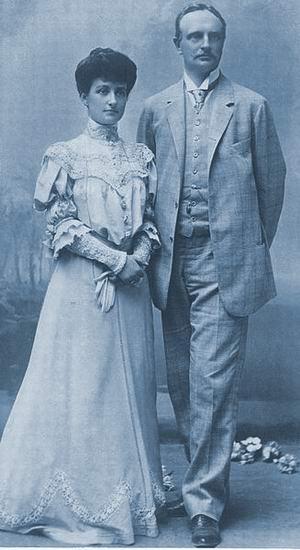 Герцог Иоганн-Георг и герцогиня Мария Иммакула