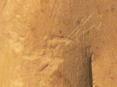 Набросок рисунка на плече Нефертити-10