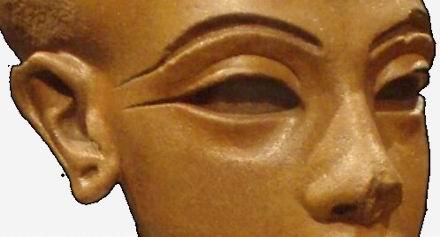 Голова дочки Нефертити (подделка)