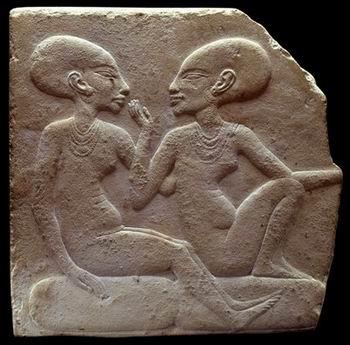 Две царских дочери (рельеф 2)