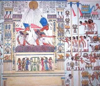 Роспись в гробнице 7