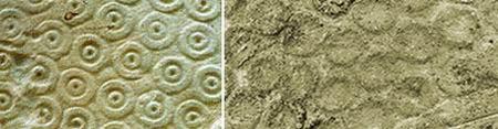 Сравнение корон Эхнатона (h) и Эхнатона (k)