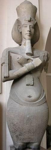 Аменхотеп IV с набедренной повязкой