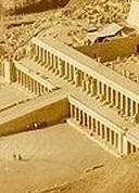 1) общий вид храма Дрей эль-Бахри