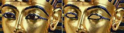 Зрячая и слепая маска Тутанхамона