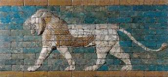 Lion Relief from the Processional Way in Babylon