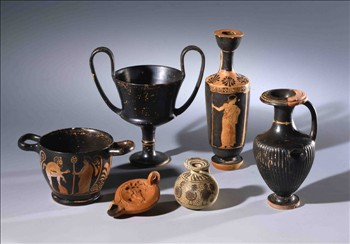 Керамика из виллы Ахиллион