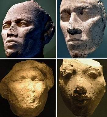 Четыре головы неизвестных
