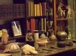 Библиотека в Доме-музее Фрейда