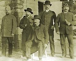 Troia 1889. Heinrich Schliemann, Wilhelm Dorpfeld